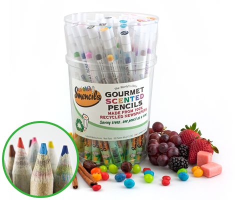 Coloured Smencils Bucket