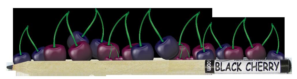 Coloured Smencil - Black Cherry