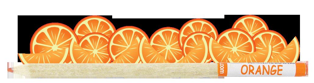 Coloured Smencil - Orange