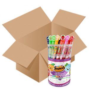 Case of Coloured Smencils