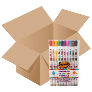 Case of Colored Smencils 10-packs